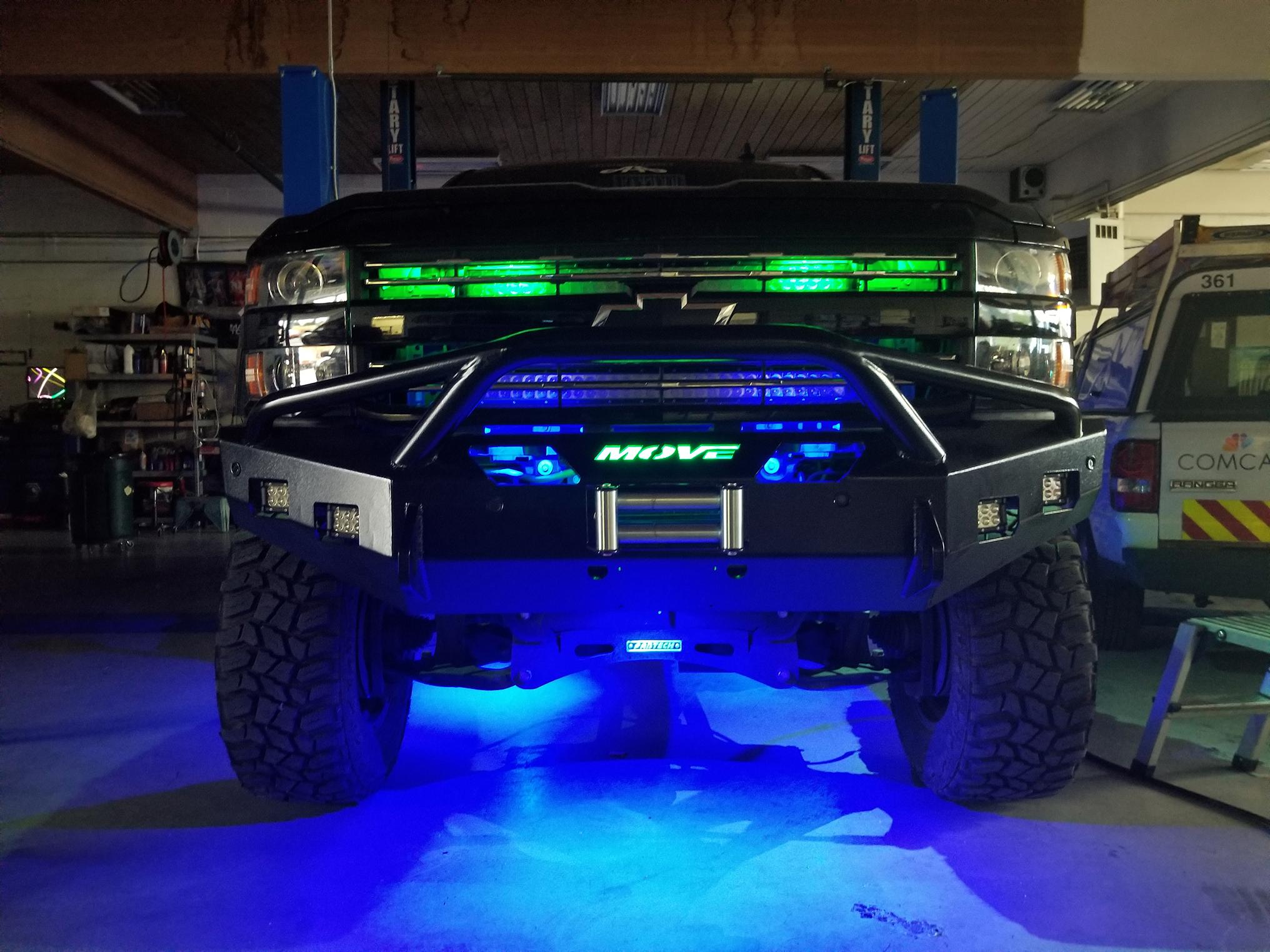 Truck Grill Lights