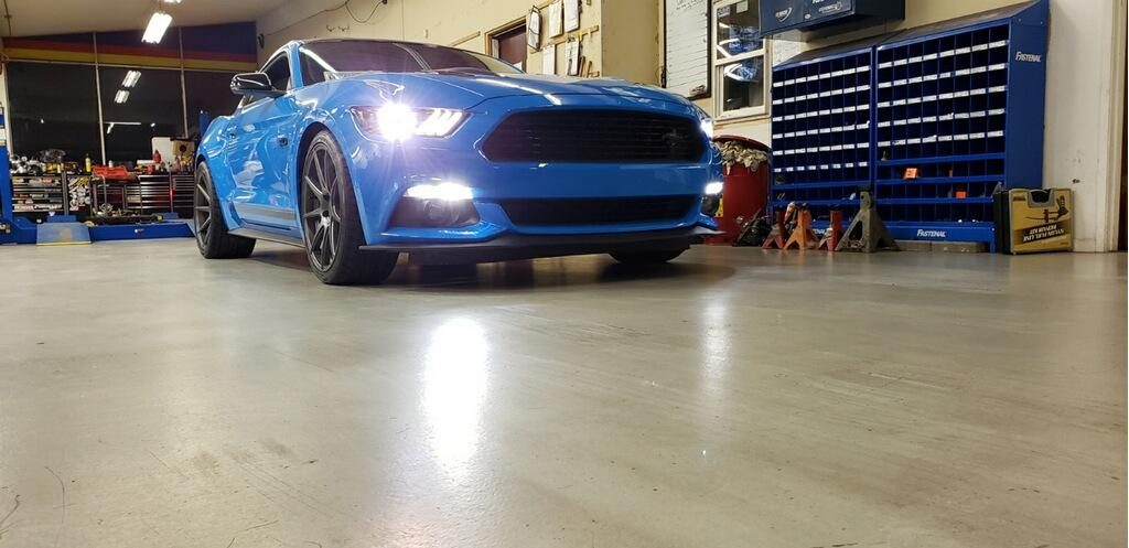 Lowering Kit on 2017 Ford Mustang GT
